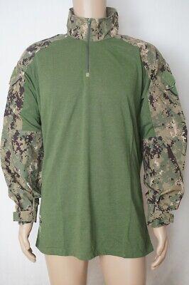 Navy Seal Large Long US Navy Crye Precision Drifire AOR2 G3 Combat Shirt