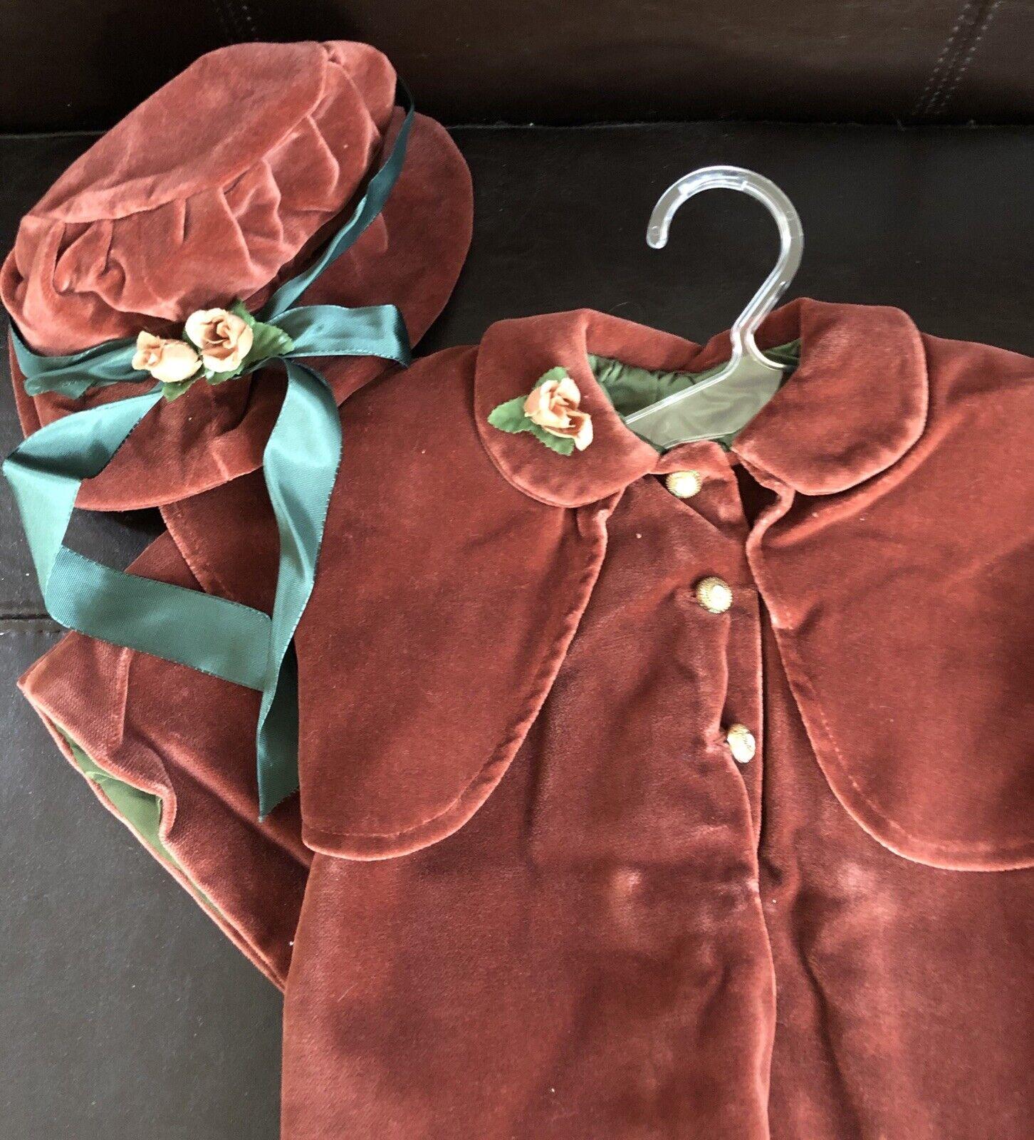 Puppenhaube// Hut Größe 50-55 cm 32-34 cm K Umfang