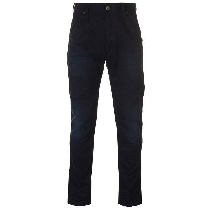 G Star Faeroes Tapered Jeans Dark bluee Aged 31W 32L 4
