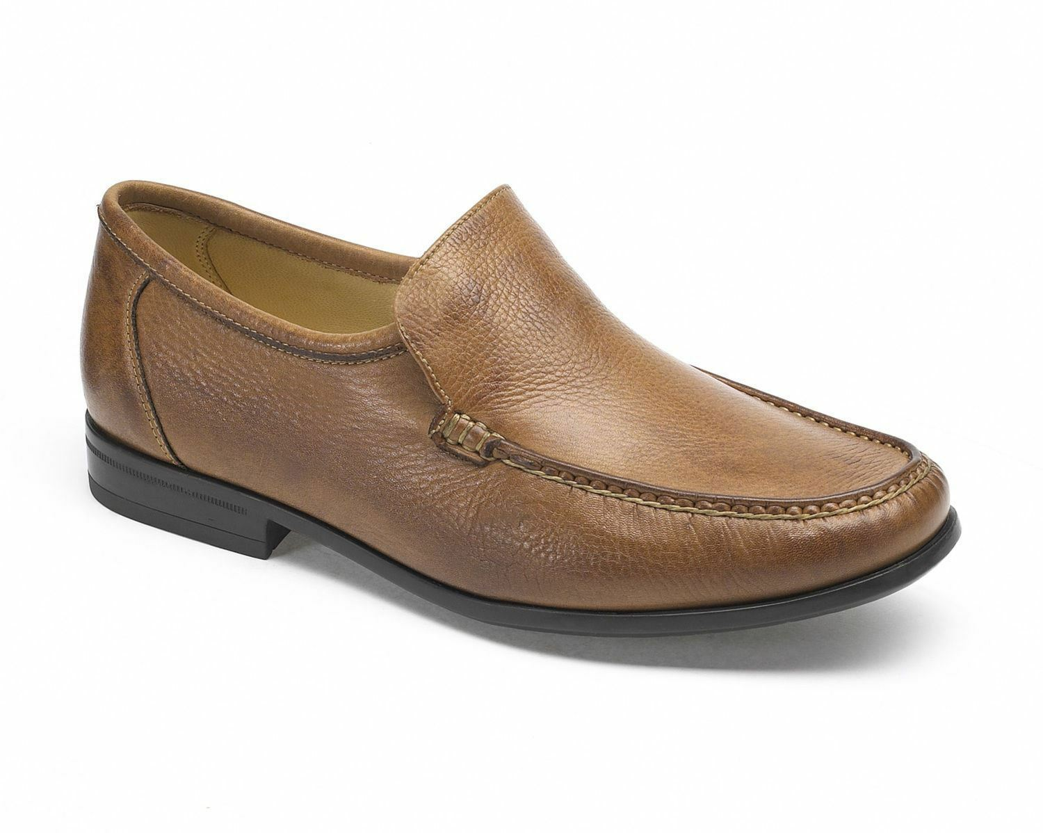 Anatomic & Co Torres cognac soft Leather Slip On Formal Shoes 828226 rrp £105
