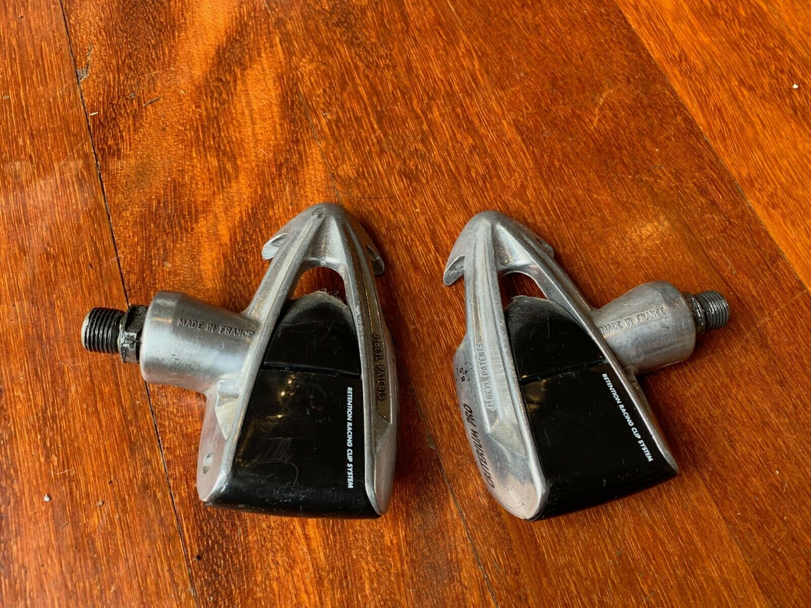 Time 'criterium pro' vintage road bike pedals. Late 90s.   No cleats. Good worki