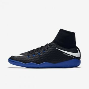5eac564565a Nike HypervenomX Phelon 3 DF IC Men s Indoor Soccer Shoes 917768-002 ...