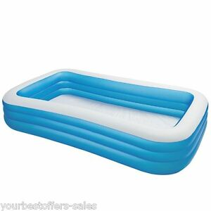 image is loading intex swim center family inflatable pool intex swimming