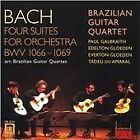 Johann Sebastian Bach - Bach: Four Suites for Orchestra Arranged for Guitar Quartet (2001)