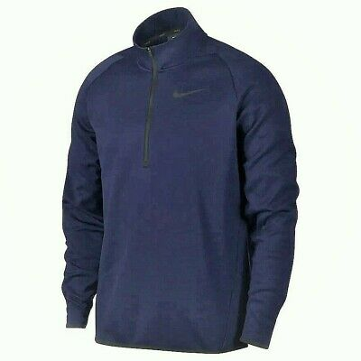 Nike Therma Men/'s Quarter Zip Training Top NEW Style 932041-471