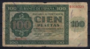 Billete-Espana-100-pesetas-Burgos-1936-G918329-paper-money