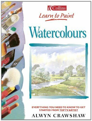 1 of 1 - Watercolours (Collins Learn to Paint),Alwyn Crawshaw