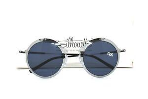Silhouette Rimless Round Sunglasses Rx-able Prescription Ready 8075 75 7000