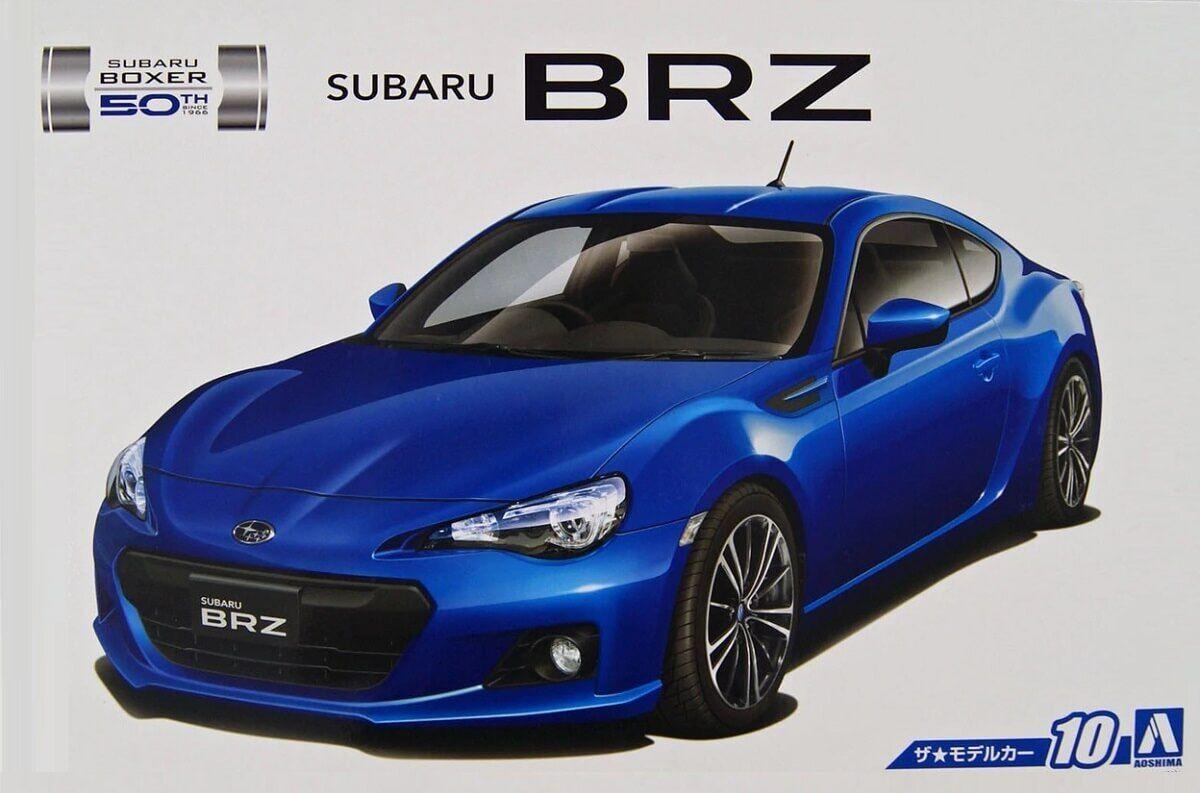 Aoshima 1 24 2012 Subaru BRZ Plastic Model Kit 051610 AOS051610
