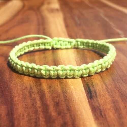 Adjustable Handmade Cord Surf Bracelets Anklet Friendship Bracelet Mens Womens