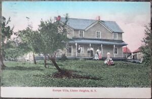Ulster-Heights-NY-1909-Postcard-Rampe-Villa-New-York