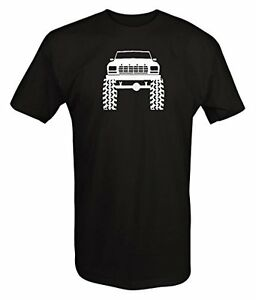 1980-039-s-90-039-s-Ford-Bronco-Lifted-Mud-Tires-Truck-T-Shirt