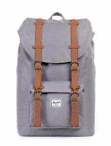 Constructif Herschel Sac À Dos Little America Mid-volume Backpack Grey / Tan