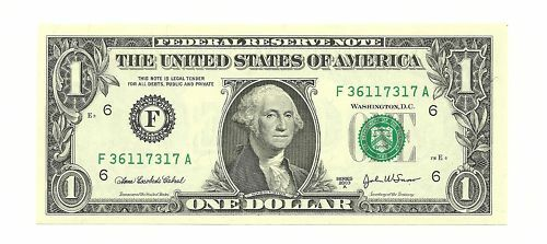 $1 2003A Fort Worth Type Note Choice Crisp Uncirculated