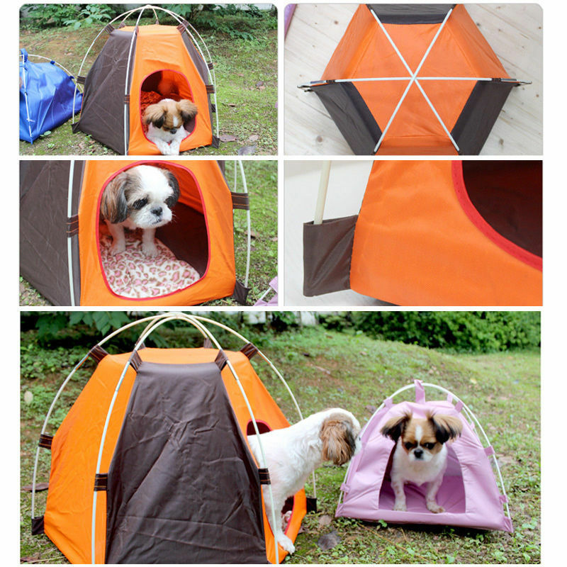 Aliexpress Com Buy Dog Portable Outdoor Travel Water: Portable Folding Pet Tent Dogs Cats Bed House Indoor