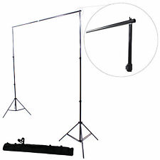 Kit Tr/épied pour Studio DynaSun 2x W957 250cm Support de Fond Pied Photo Video Tres Robuste avec Sac