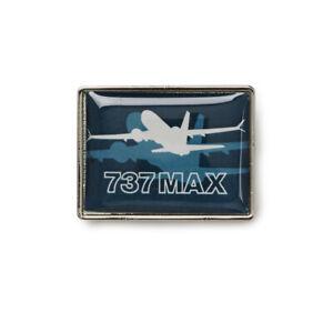 Boeing-737-MAX-Pin-Label-Shadow-NEU-Anstecker-Uniform