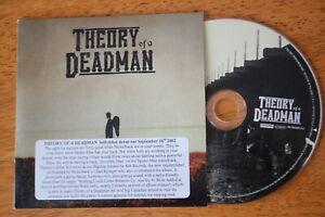 Theory-Of-A-Deadman-Debut-Album-10-x-track-promo-CD-album-2002-rock