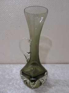 Design Vaso Vetro Brocca - Vintage - Circa 1970 - Handgefertigt