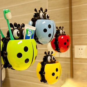 Various-Animal-Home-Toothbrush-Toothpaste-Holder-Case-with-Wall-Mounted-Suction