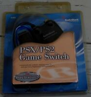 Radio Shack Psx/ps2 Game Switch - Brand In Package - For Play Station