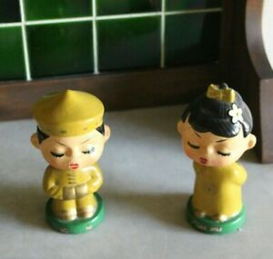 Vintage-Set-of-Chinese-Composition-Bobbleheads