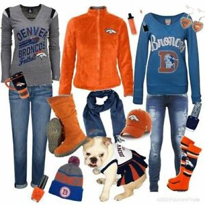 f5d369d0578 Buy 1 Get 1 50% Off Denver Broncos Clothing T-Shirts Sock Scarfs ...