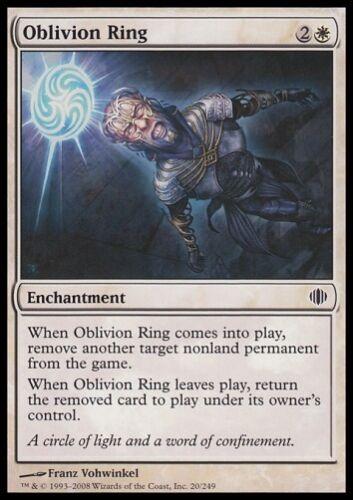 MTG 4x Oblivion Ring-Shards of Alara Remove Card *