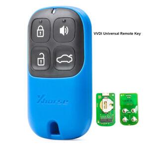 XHORSE Multicolor Universal Remote Key Fob 4 Button for VVDI Key Tool VVDI2 Blue