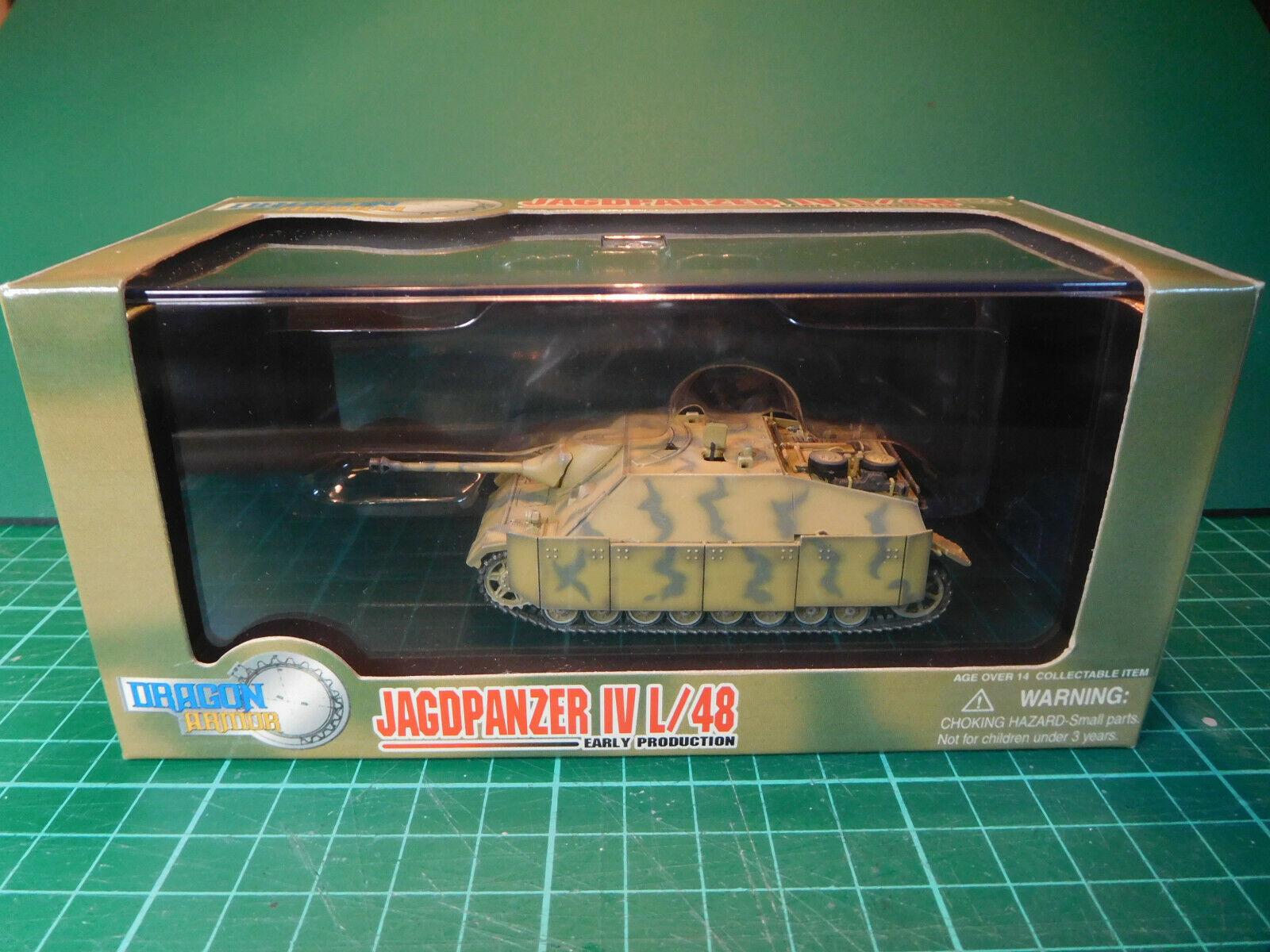 1-72 oggetto Dragon ARMOR N. 60225 tedesco Jagdpanzer IV L 48 precoce prod, Normandia 1