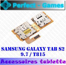 Samsung Galaxy Tab S2 9.7 SM-T815 lecteur carte SIM et MICRO SD card reader