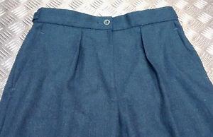 Genuine British Wraf Royal Air Force Womans No1 Ou Officiers De Robe Pantalon Slacks-afficher Le Titre D'origine Facile à Utiliser