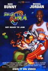 prix compétitif 4cbf3 fbdfc Details about SPACE JAM Movie POSTER PRINT 27x40 Michael Jordan Bill Murray  Wayne Knight