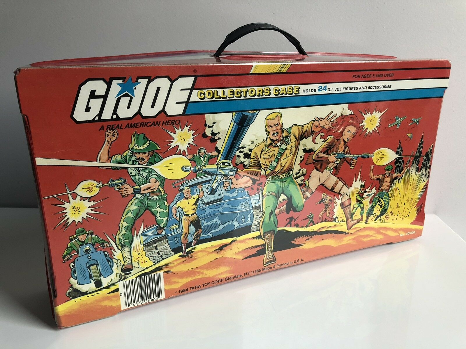 GI JOE Gijoe Collectors Case 100% Complete     1984 RARE f80de6