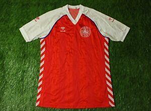 reputable site f2707 817e4 DENMARK NATIONAL TEAM 1984/1986 RARE FOOTBALL SHIRT JERSEY ...