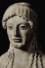 503054 Draped Female Statue Greek Museum Of The Acropolis A4 Photo Print