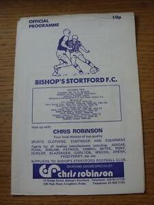 11-08-1979-Bishops-Stortford-v-Boreham-Wood-Hertfordshire-Charity-Cup-Creased