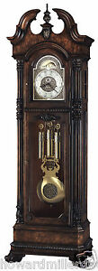 Howard-Miller-610-999-Reagan-Presidential-Series-Cherry-Grandfather-Clock