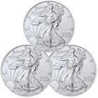 2017 1 Troy oz. American Silver Eagle - Lot of 3 Coins SKU44362