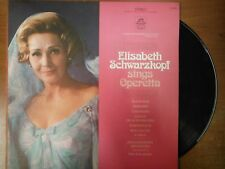33 RPM Vinyl Elisabeth Schwarzkopf Sings Operetta Angel Records S35696 012115SM