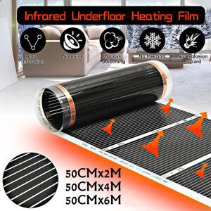 2-4-6M-50CM-Elettrico-Infrarossi-Riscaldamento-a-pavimento-pellicola-riscaldare