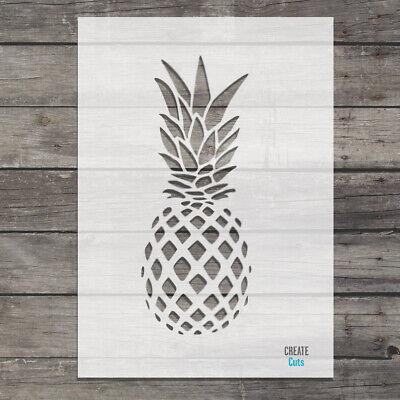 Reusable Tropical Fruit Airbrush //Craft Template CraftStar Pineapple Stencil