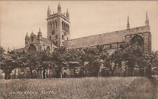 The Abbey From The North, SELBY, Yorkshire