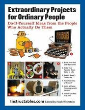 Paperback book EXTRAORDINARY PROJECTS FOR ORDINARY PEOPLE Do it Yourself Ideas