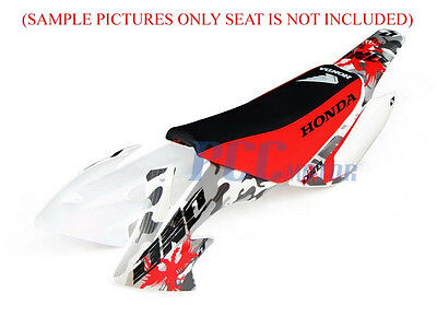 2L WHITE PLASTIC FENDER KIT HONDA CRF XR50 CRF50 SDG SSR 110 125 BIKE PS01 by PCC MOTOR