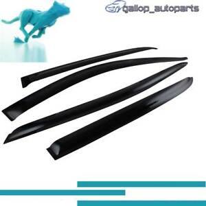 Weather-shields-For-Toyota-Corolla-Ascent-Sport-Conquest-2002-2006-Hatch-Visors