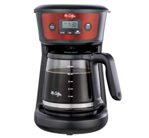 12-Cup-Programmable-Coffeemaker-Stainless-Steel-Programmable-Home-Office-NEW