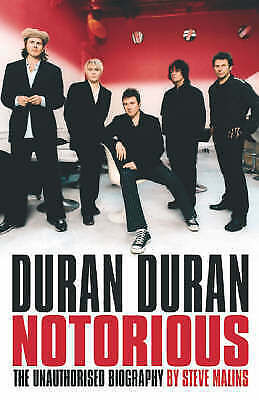 1 of 1 - Duran Duran: Notorious, Malins, Steve, Very Good Book