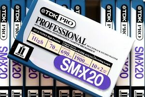 TDK-SM-X-20-PROFESSIONAL-HIGH-BIAS-IEC-II-TYPE-II-BLANK-AUDIO-CASSETTE-TAPE