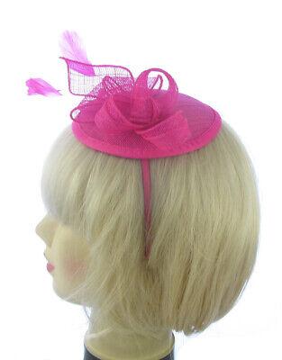 Acquista A Buon Mercato Hatinator Per Capelli Fascinator Con Piuma Rosa Caldo Cappello Wedding Head Band-mostra Il Titolo Originale Ampia Selezione;